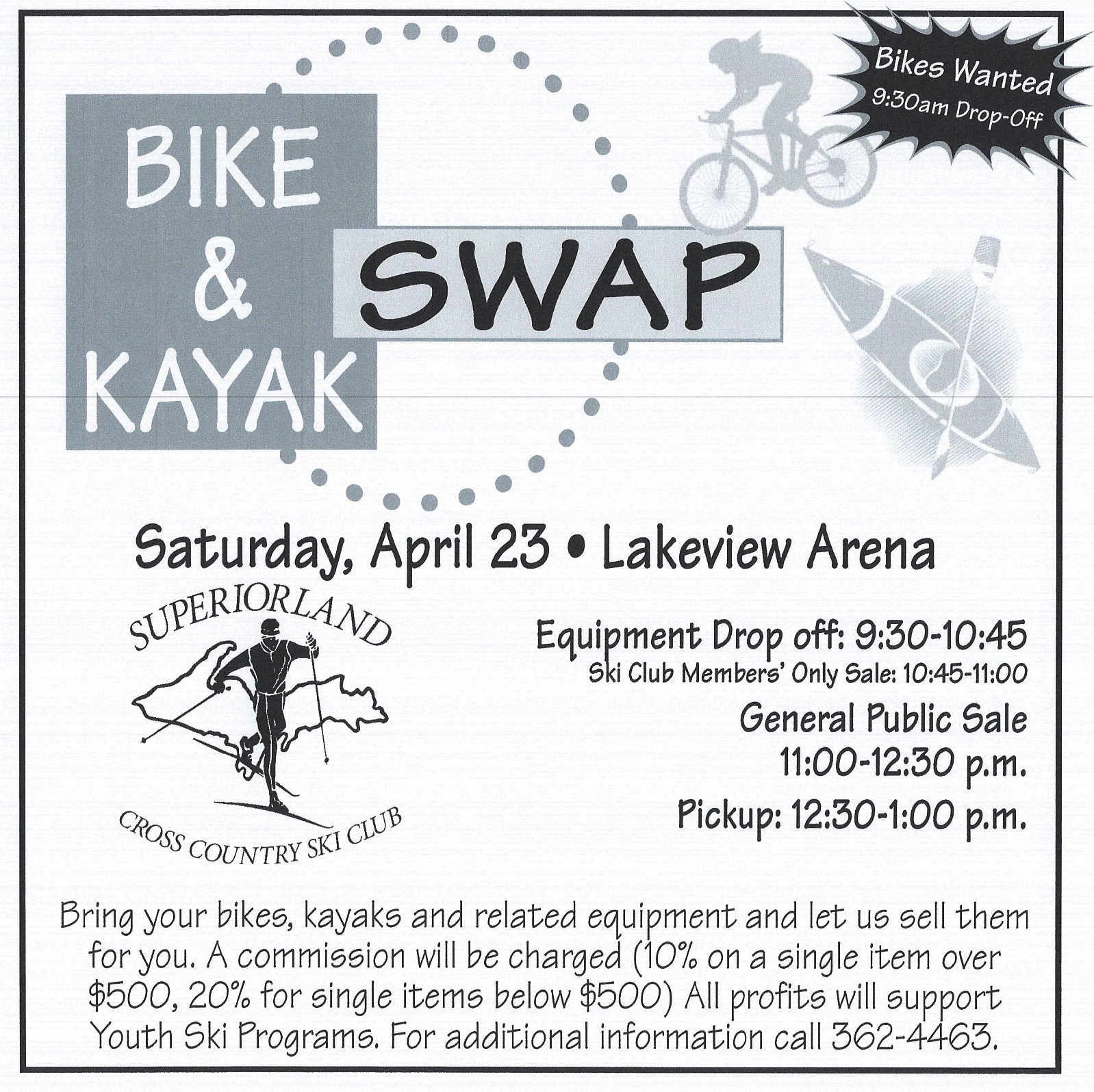 ad for 2016 bike swap